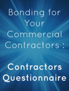 contractors questionnaire 1